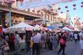 Chinatown jaarlijks autumn moon festival Stock Foto's