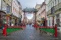 Chinatown london district in england Royalty Free Stock Image