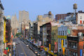 Chinatown New York City Immagine Stock