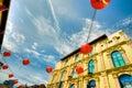 Chinatown at Noon Stock Photo
