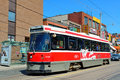 Chinatown toronto canada july light rail in on july in it is one of the largest chinatowns in north america and chinese Royalty Free Stock Images