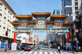 Chinatown in Washington DC, USA Stock Photography