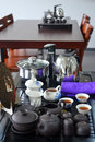 Chinaware tea set Royalty Free Stock Photo
