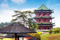 Chinese ancient buildings of local Royalty Free Stock Photography