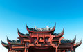 Chinese ancient buildings of local Stock Photo