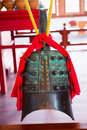 Chinese ancient chime closeup the Royalty Free Stock Photos