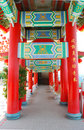 Chinese ancient pillar Stock Photography