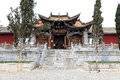 Chinese ancient village, Guando ancient town Royalty Free Stock Photo