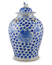 Chinese antique vase Royalty Free Stock Photo