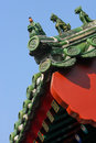 Chinese architecture Royalty Free Stock Images