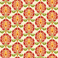 Chinese asian seamless vector pattern background. Traditional ornament. Royalty Free Stock Photo