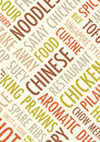 Chinese background an a text Royalty Free Stock Photography