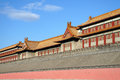 Chinese, Beijing. The Forbidden City Stock Photos