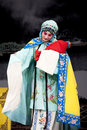 Chinese Beijing opera actress,the Tsing Yi role Royalty Free Stock Photos