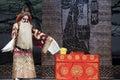 Chinese Beijing opera performer Royalty Free Stock Photo