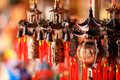 Chinese bells copper luck simbol Stock Image