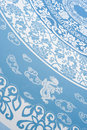 Chinese Blue Pattern Stock Image