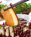 Chinese braised pork belly, dongpo pork Royalty Free Stock Image