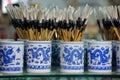 Chinese brush-pen Royalty Free Stock Image
