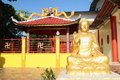 Chinese buddhist Buddha statue Royalty Free Stock Photo