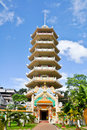 Chinese Buddhist Pagoda Stock Photography