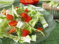 Chinese cabbage salad Stock Photo