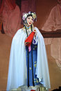 Chinese Cantonese opera actress Stock Image