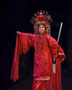 Chinese Cantonese opera actress Stock Photos