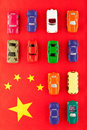 Chinese car industry (2) Royalty Free Stock Images