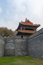 Chinese castle tower Royalty Free Stock Images