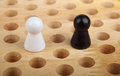 Chinese checkers figurine Stock Images