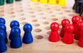 Chinese checkers figurine Stock Photos