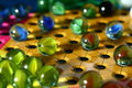 Chinese Checkers Game Board Royalty Free Stock Photography