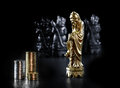 Chinese Chess Piece III Royalty Free Stock Photo