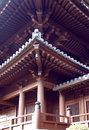 Chinese Chi Lin Nunnery Roof Details Royalty Free Stock Photo