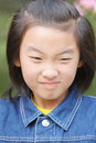 Chinese child face Stock Images