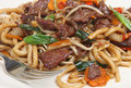 Chinese Chilli Beef Takeway Royalty Free Stock Images