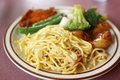 Chinese Chow mein Stock Images