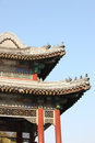 Chinese classic building details Royalty Free Stock Image