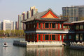 Chinese classic buildings Stock Images