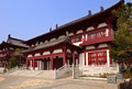 Chinese classical architecture located in changchun jilin china Stock Image