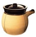 Chinese Clay Pot Royalty Free Stock Photo