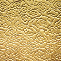 Chinese Cloud Pattern Gold Col...