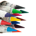 Chinese color pencils Stock Images