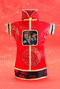 Chinese costume pattern Royalty Free Stock Photography