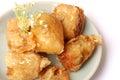 Chinese crab ball starter before main dish Royalty Free Stock Photo