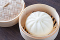 Chinese cuisine steamed bun Royalty Free Stock Photo