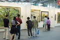 Chinese Culture Fair - art gallery Stock Photography
