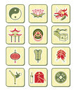 Chinese culture icons | BAMBOO series Stock Photos