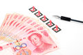 Chinese currency Royalty Free Stock Image